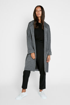 Springfield Long jacket silber