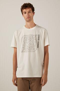 Springfield League of Legends T-shirt natural