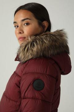 Springfield Quilted waterproof Sorona jacket deep red