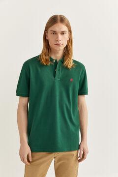 Springfield Polo piqué básico green