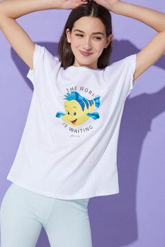 Springfield Camiseta Pez Flounder gris