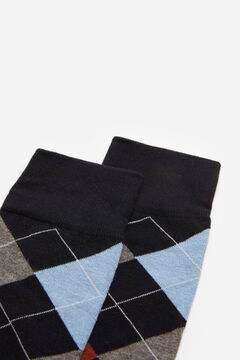 Springfield Diamond socks black