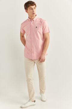 Springfield Pinpoint shirt rust