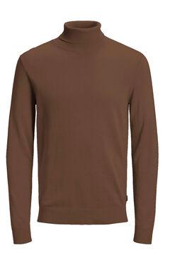 Springfield High neck jumper brown
