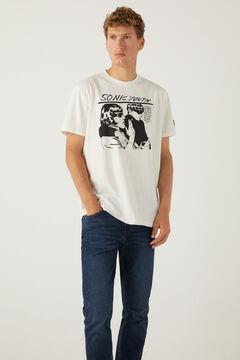 Springfield Sonic Youth T-shirt ecru