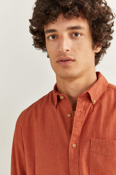 Springfield MELANGE SHIRT red