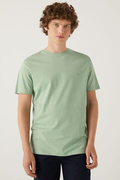 Springfield T-shirt básica árvore verde