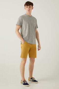 Springfield Comfort stretch Bermuda shorts banana