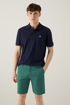 Springfield Comfort stretch Bermuda shorts green