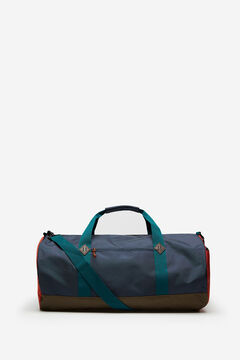 Springfield MULTICOLOURED NYLON TRAVEL BAG dark green