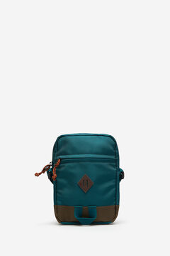 Springfield MEDIUM MULTICOLOURED NYLON BAG dark green