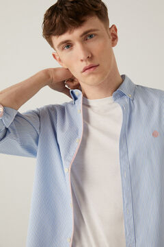 Springfield Striped shirt steel blue