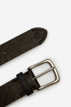 Springfield Essential faux leather belt black