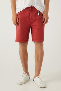 Springfield Beach Bermuda shorts keyring royal red