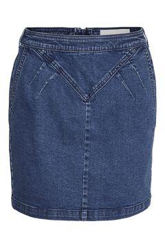 Springfield Falda mini denim azulado