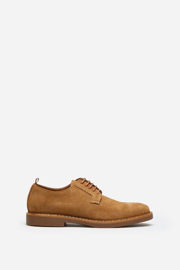 59da863adc9 Springfield Zapato en serraje corte blucher detalles en cinta color