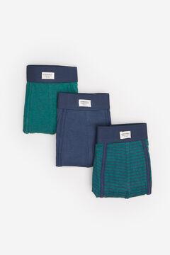 Springfield Pack 3 boxers básicos verde bosque