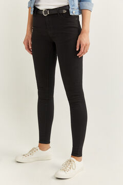 Springfield Denim jeggings black
