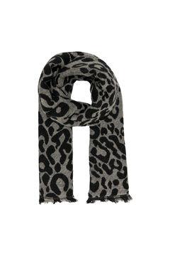 Springfield Printed scarf schwarz