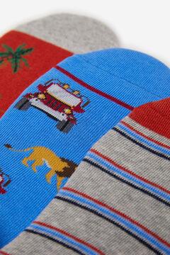 Springfield Pack safari socks blue