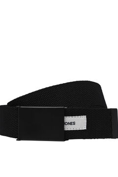 Springfield Textured canvas belt black