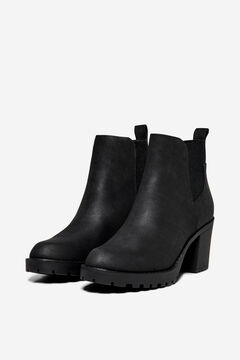 Springfield Rubber soled ankle boot noir