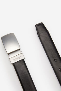 Springfield REVERSIBLE PLATE BELT black