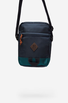 Springfield MEDIUM MULTICOLOURED NYLON BAG blue
