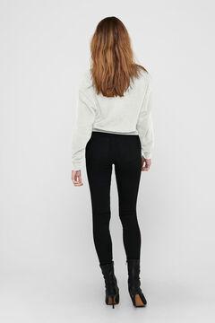 Springfield Female' print sweatshirt fehér