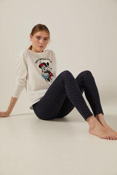 Springfield Pijama Diseny Minnie y Mickey azul indigo
