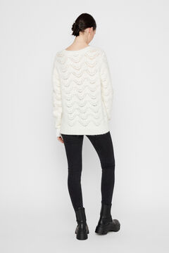 Springfield Jersey-knit jumper  white