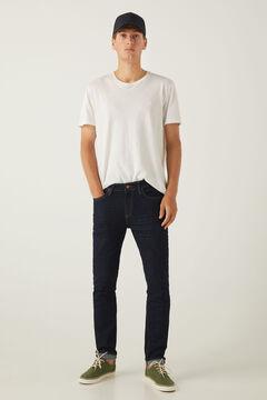 Springfield Desized wash skinny jeans navy