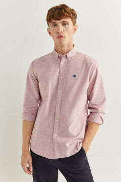 Springfield CHEMISE OXFORD rouge