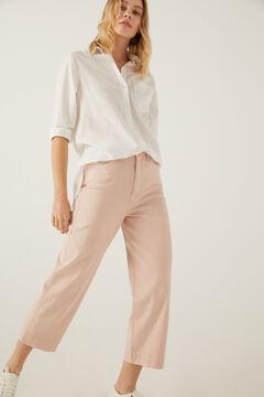 Springfield Jeans culotte color fresa