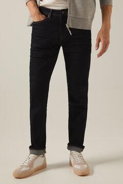 Springfield Light wash slim fit jeans royal blue