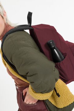 Springfield Backpacks PADDED ZIPPL'R + CRAFTY WINE deep red