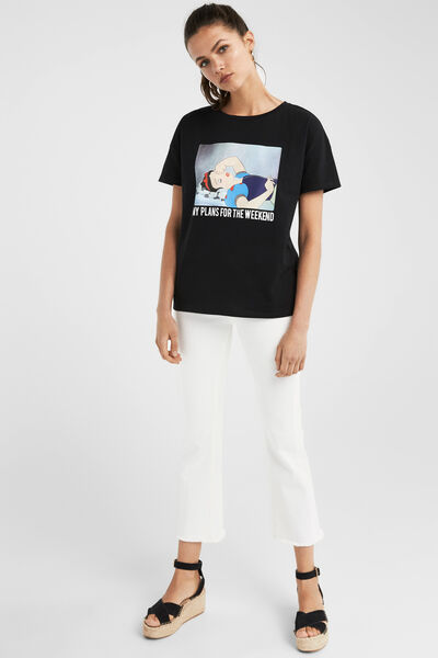 Springfield - Graphic print t-shirt - 1