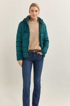 Springfield Essential Quilted Jacket oil