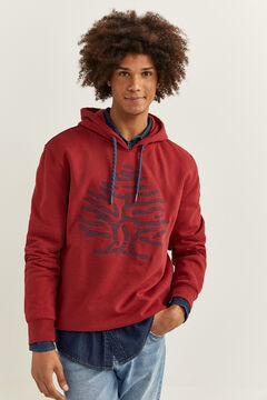 Springfield EMBROIDERED LOGO SWEATSHIRT royal red