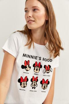 """Springfield T-Shirt """"Minnie Moods"""" weiß"""