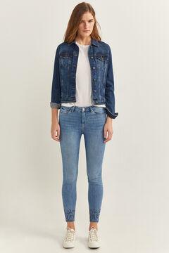 Springfield Jeans Slim Eco Dye azul aço