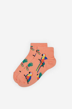 Springfield Parrot ankle socks bordeaux