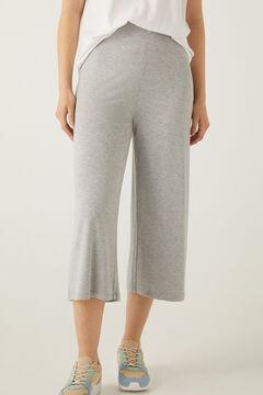 Springfield Elasticated waist culottes grey