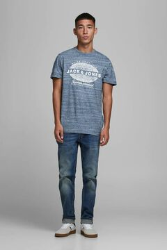 Springfield Jack & Jones logo t-shirt navy