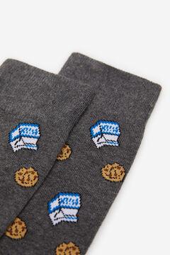 Springfield JACQUARD COOKIES SOCKS grey