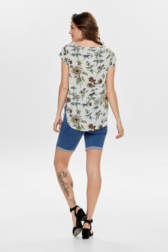 Springfield Short-sleeved top blanc