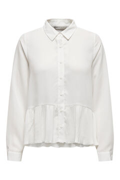 Springfield Ruffled blouse white