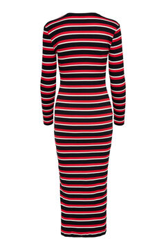 Springfield Stretch cotton dress royal red