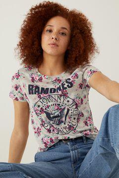 Springfield T-shirt « Ramones » gris