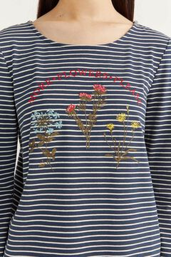 Springfield STRIPED T-SHIRT blue mix